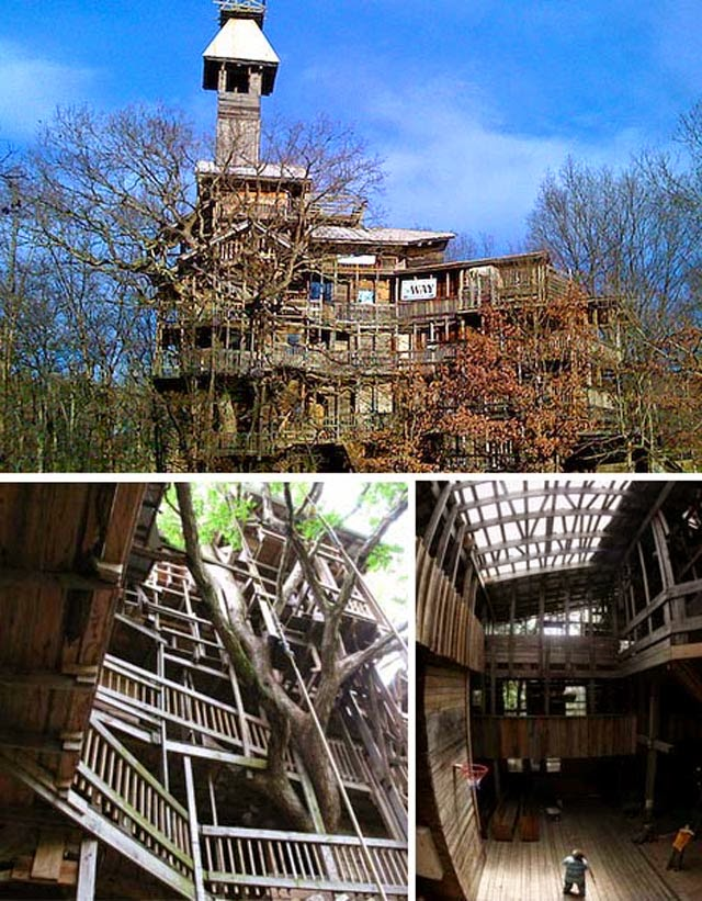Biggest TREEHOUSE In Crossville, Tennessee