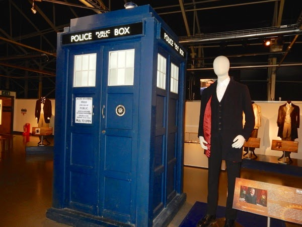 Doctor Who TARDIS Peter Capaldi 12th Doctor costume