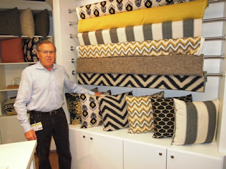 ikat, gray fabrics, black fabrics, yellow farics