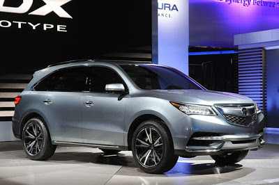 2014 Acura MDX Prototype is exactly what we expected