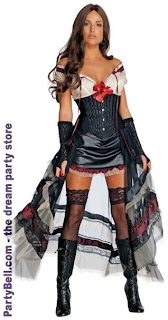 Jonah Hex - Lilah (Red Look) Halloween Adult Costume