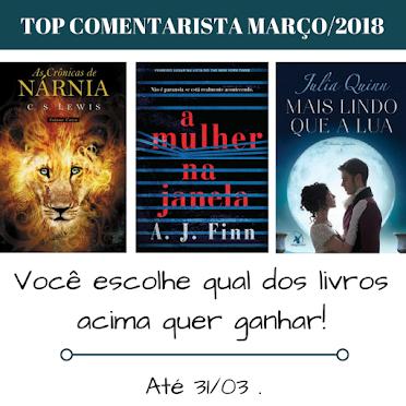 Top Comentarista / Março