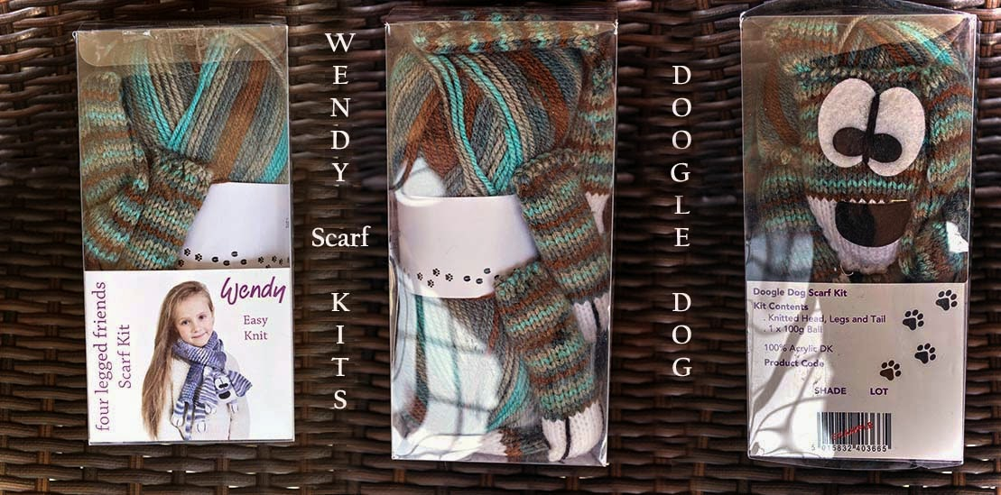 Wendy four legged friends knitting kits at www.thewoolshop.ie