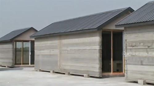 10 ngôi nhà được dựng trong 1 ngày bằng máy in 3d