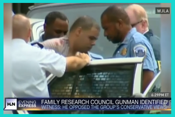 Floyd Lee Corkins is the alleged gunman in the Family Research Council shooting