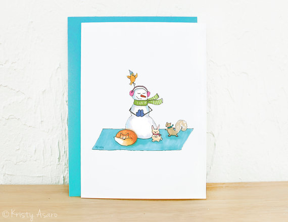 Kids yoga daily happy holidays spread yoga cheer with themed httpgreetingcarduniverseholiday cardschristmas cardsyoga teacher instructormerry christmuse moose practicing 850071 m4hsunfo