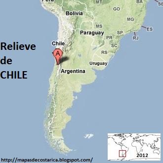 Chile Map Google - Argentina map google