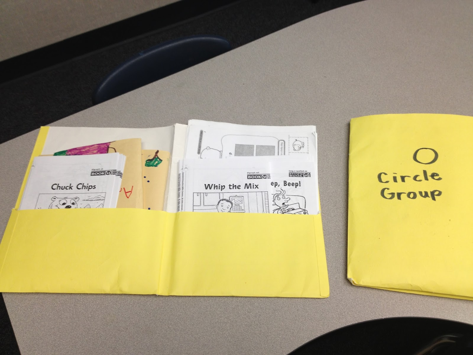 Kindergarten Corps Back To School Basics Guided Reading Folders