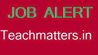 Image_Job Alert_teachmattes.in