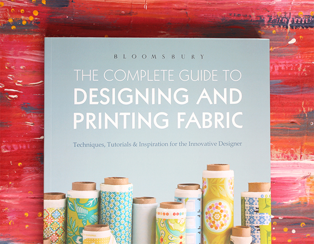 the complete guide to designing and printing fabric by laurie wisburn