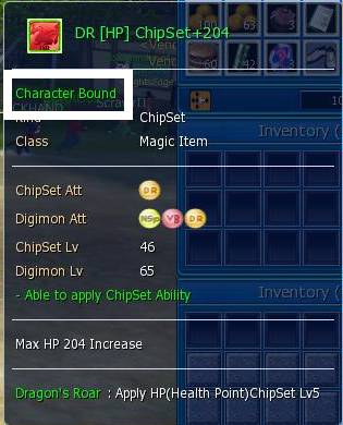 digimon masters online chipset, dragon roar