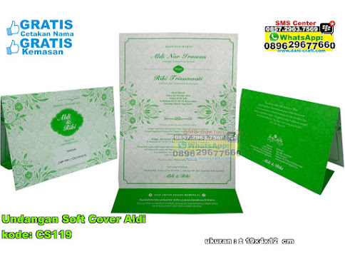 Undangan Soft Cover Aldi