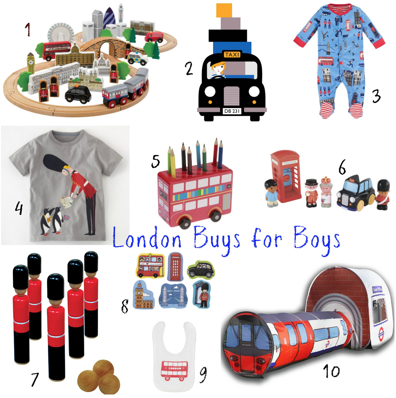 Baby Gift London : Great london themed buys for boys and girls v i