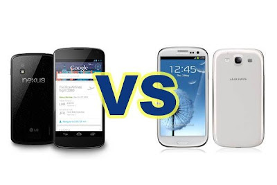 Galaxy S4 vs Nexus 5