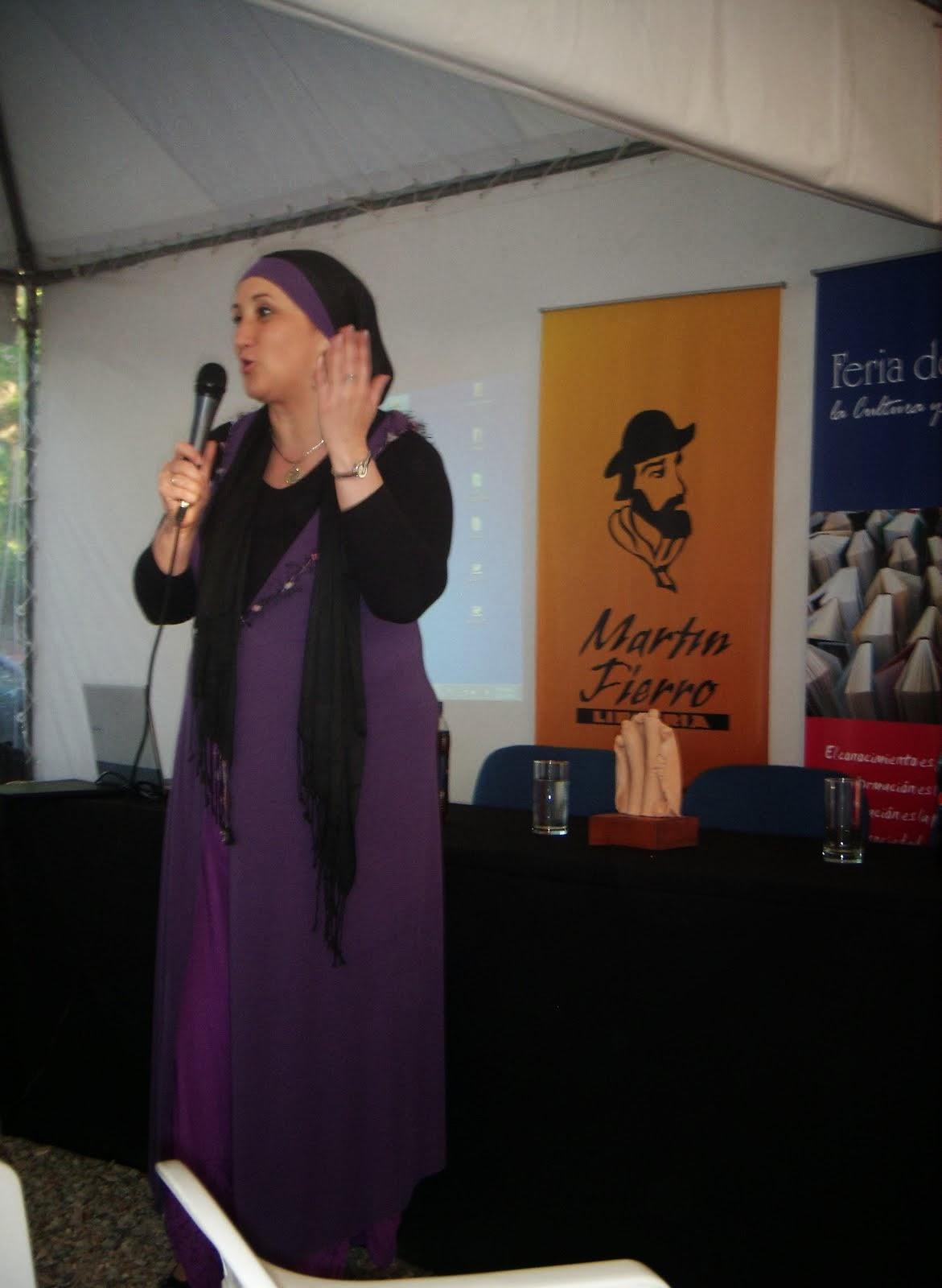 Durante la 2da Feria del Libro de Atlántida