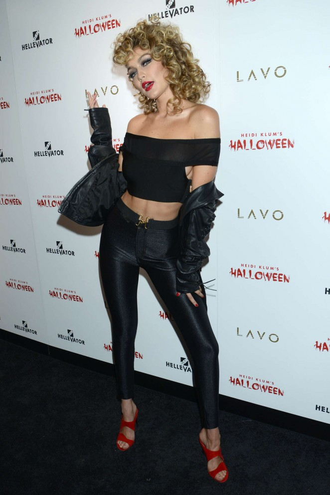 Gigi Hadid – Heidi Klum Halloween Party 2015 in NY