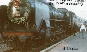 Loc. 46025 DE VAPOR -Orient Expres.