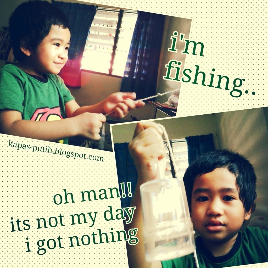 tak dapat ikan pun