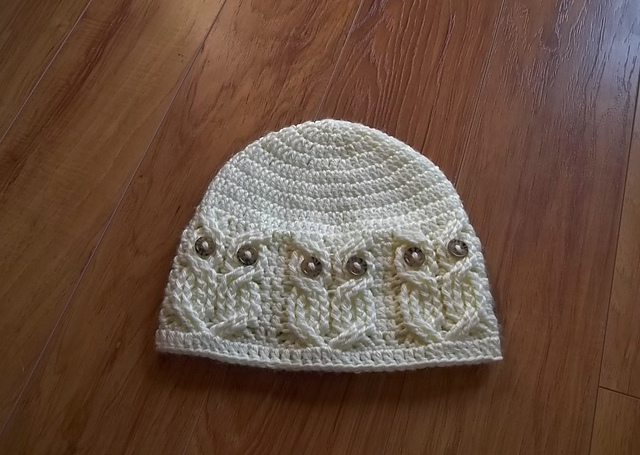 Free Crochet Pattern For Child s Owl Hat : Crochet For Free: Its a hoot! an Owl Hat (Baby, Child, Adult)