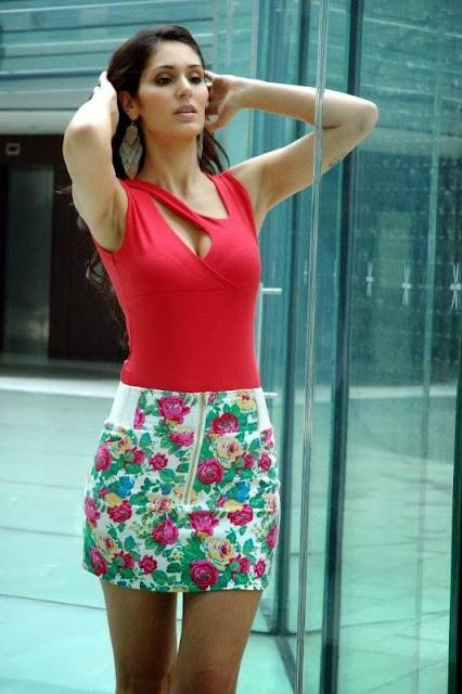Bruna Abdullah Photoshoot in Red Top