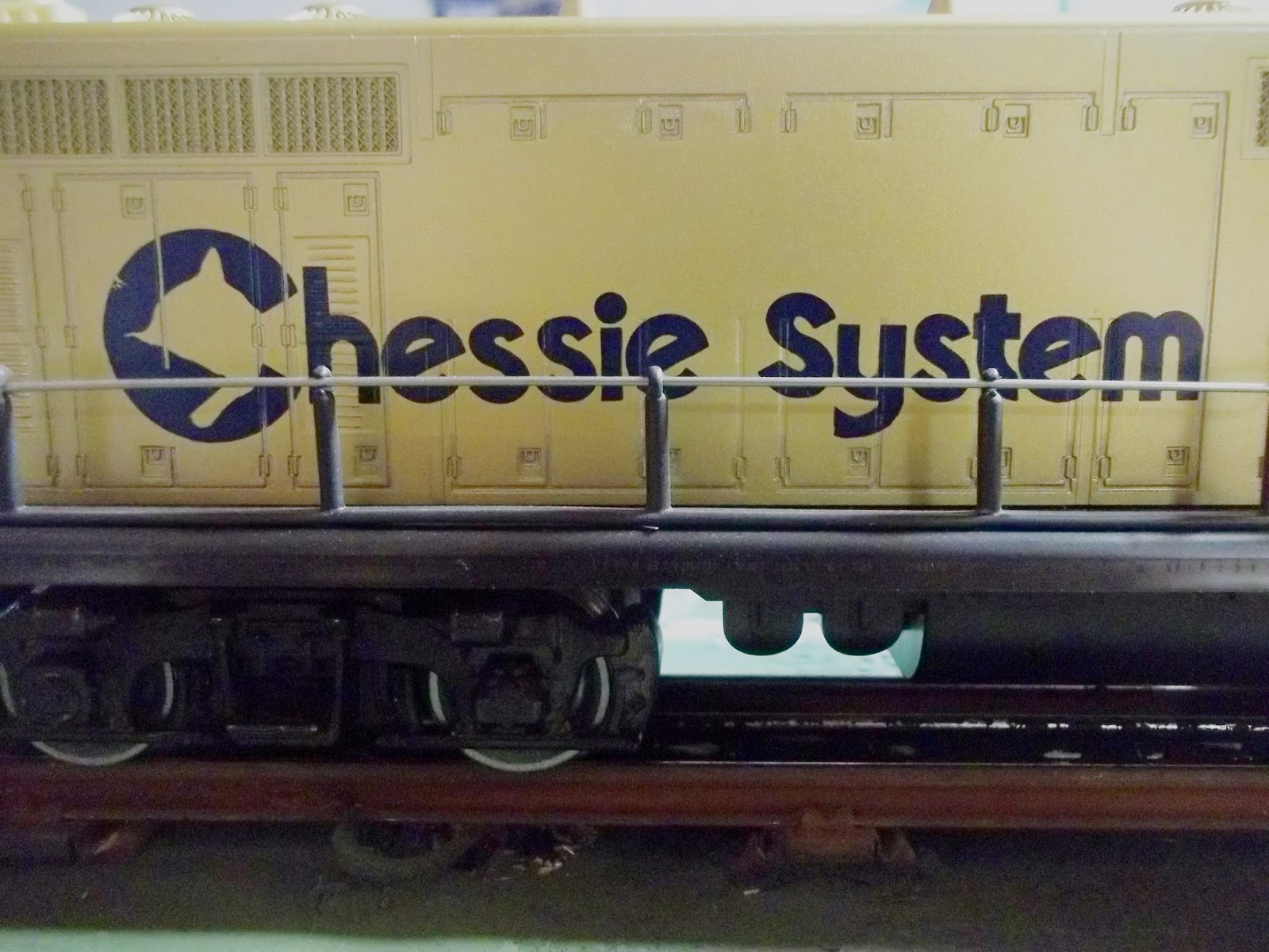 3 rail fun lionels model features a sharp rendition of the chessie system graphics asfbconference2016 Image collections