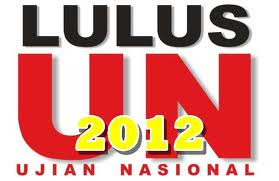 Pengumuman Ujian Nasional UNAS 2012