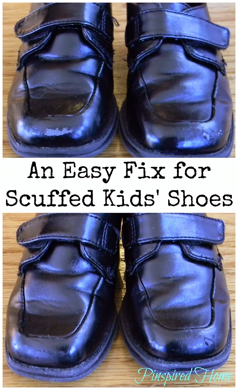 how to clean scuffed shoes