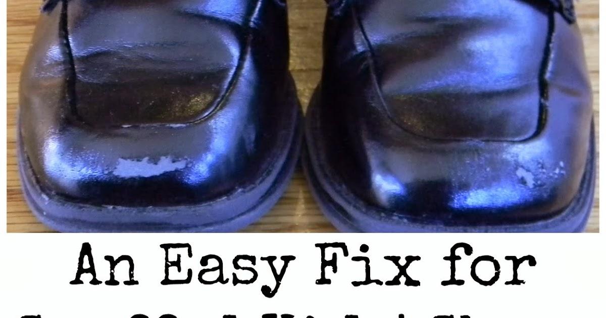 Fix Scuffed Black Shoes