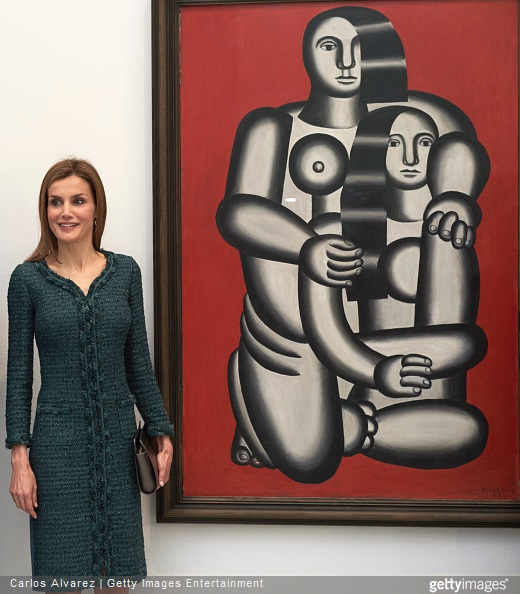 Queen Letizia of Spain visits the Reina Sofia National Museum