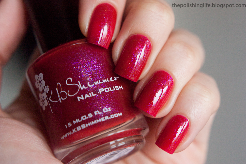KBShimmer Every Nook & Cranberry swatches and review