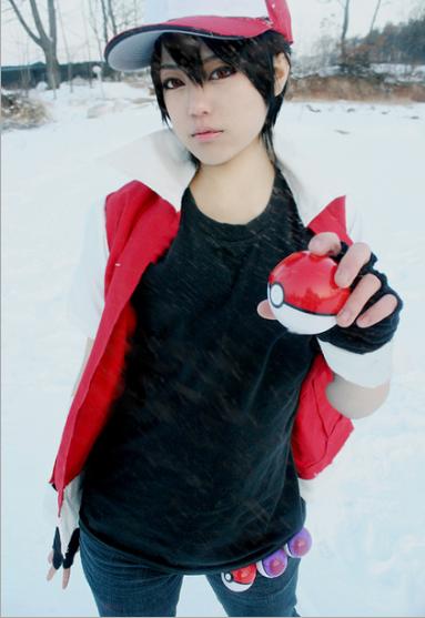 pokemon cosplay pokemon trainer red cosplay