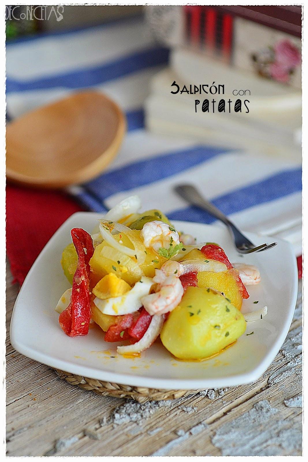 Salpicón con patatas