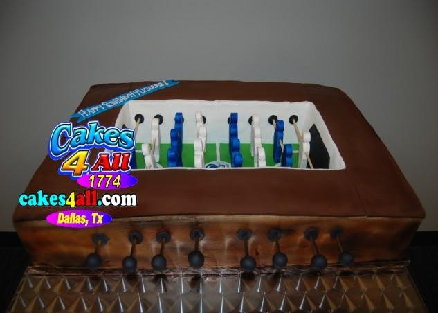 cakes 4 all in Dallas: Foostball cake Dallas