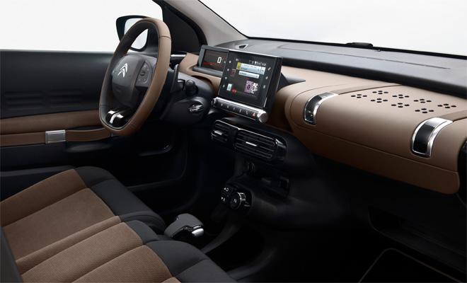 2014 Citroen C4 Cactus interior