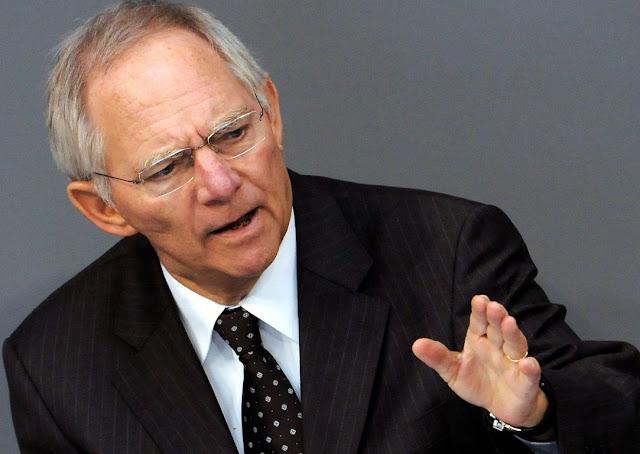 Σόιμπλε: «Δεν μπορώ να πω με σιγουριά, ότι η ΕΕ θα βοηθήσει οικονομικά την Κύπρο»