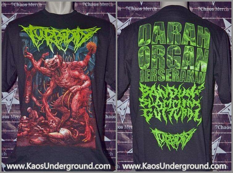 BAND TURBIDITY KAOSUNDERGROUND.COM 7CHAOS MERCH