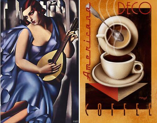 Historia del arte i art d co for Famous art deco art