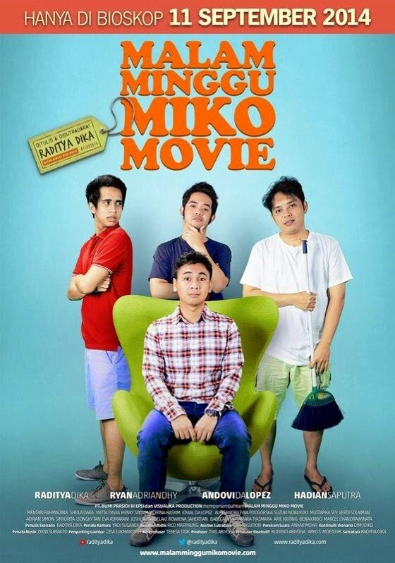 Film Malam Minggu Miko Movie 2014 di Bioskop