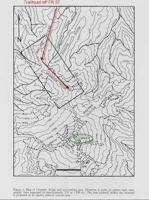 Skyline Divide Route