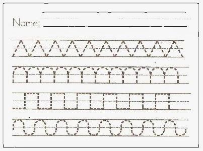 Handwriting Worksheets Numbers