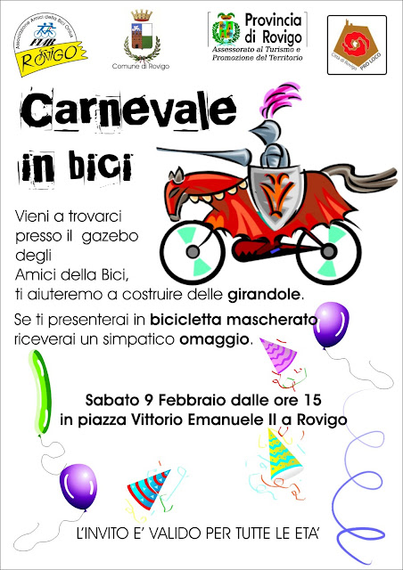 carnevale in bici 2013 - Rovigo