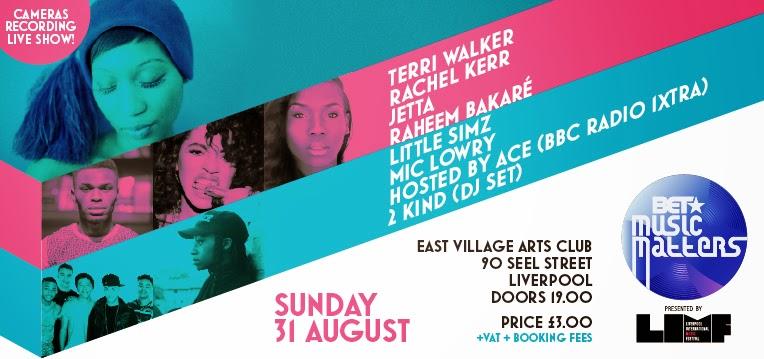 LIMF Terri Walker BET Music Matters East Village Art Club
