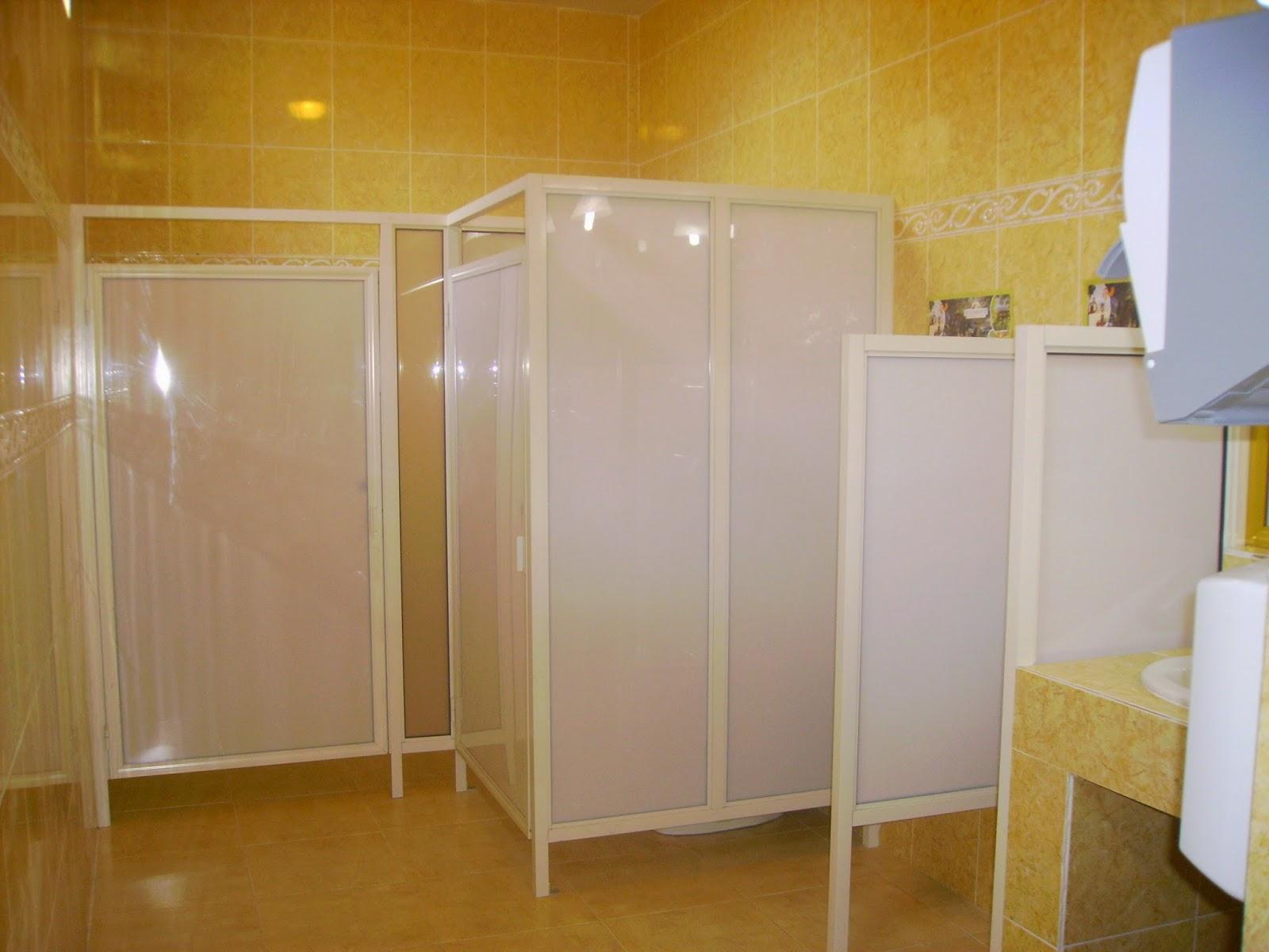 Persianas aluminio y vidrio canceleria para ba os comerciales - Persianas para banos ...