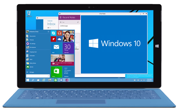 Microsoft unveils windows 10 the next version of windows for Latest windows version