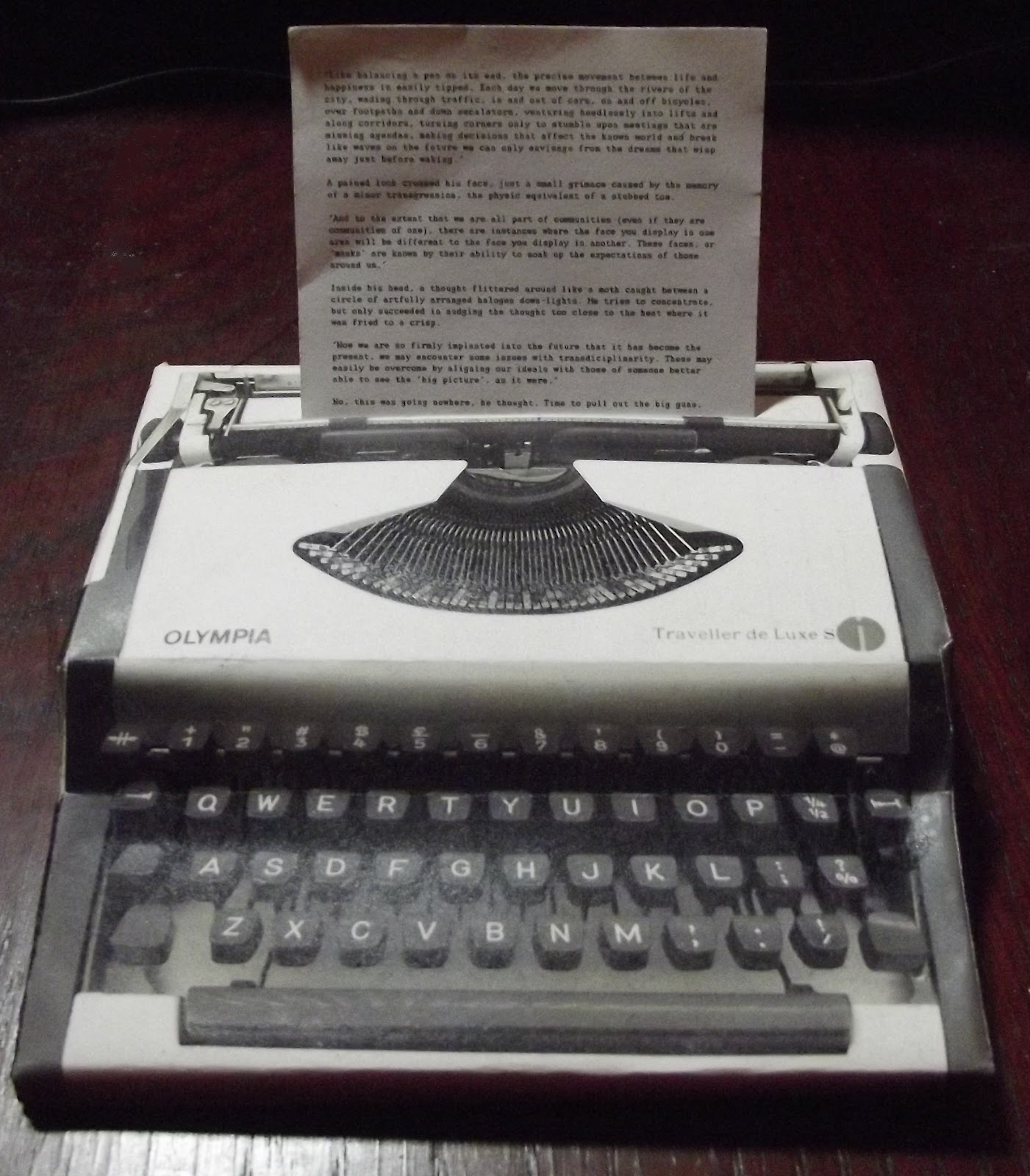 typewriter paper A parade gift guide pick for 2017 just the type of thing to thrill analog-obsessed note-takers, this box of notepaper mimics the shape of a real typewriter in.