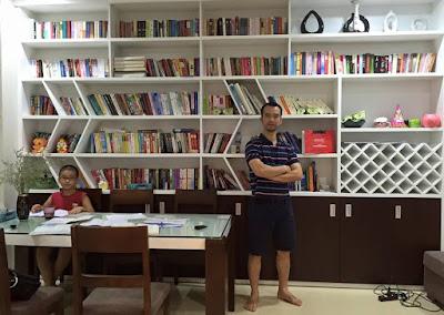 Nguyễn Trọng Thơ: tài sản của tôi nằm ở kho sách quý