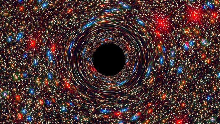 """""""Monstruo cósmico"""" 17.000 millones de veces más grande que el Sol"""