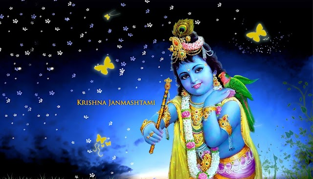 Lord Krishnashtami Festival HD Wallpaper free