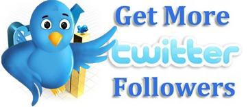 Menambah Follower Twitter Secara Gratis Setiap Hari