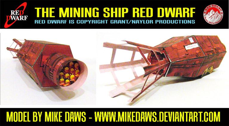 red dwarf ship model kit - photo #19